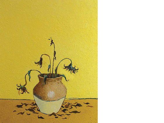 banksy-van gogh-sunflowers