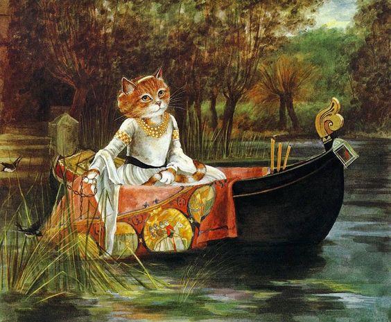 ünlü tabloların kedili versiyonları