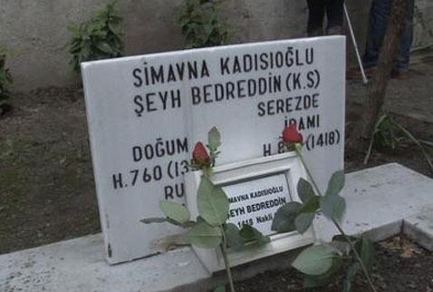 şeyh bedredddin mezarı