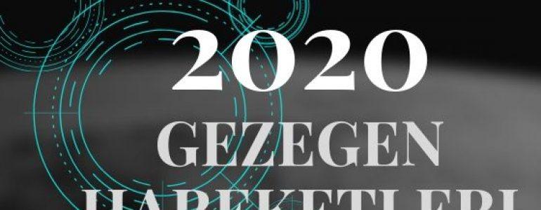 2020 gezegen hareketleri